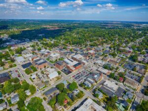 Greencastle Indiana From The Sky